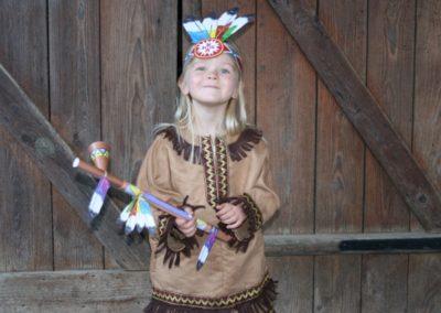 Une Chasse au Trésor - cowboy indien - costume