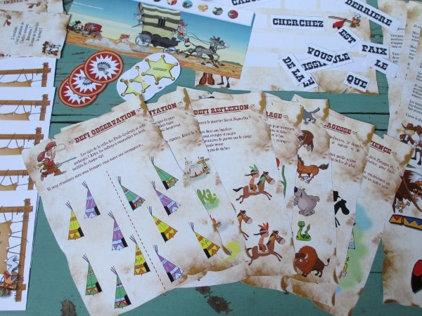 chasse au trésor maternelle cowboy indien - Une Chasse au Trésor