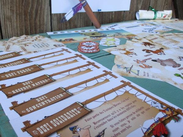 chasse au trésor primaire cowboy indien - Une Chasse au Trésor