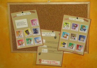 Une Chasse au Trésor - enquête détective - décoration affiches
