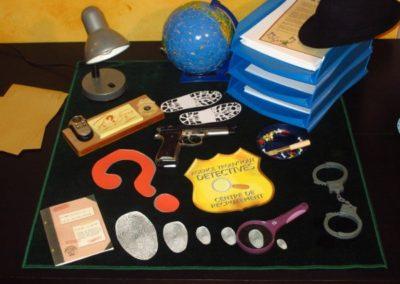 Une Chasse au Trésor - enquête détective - décoration bureau détective