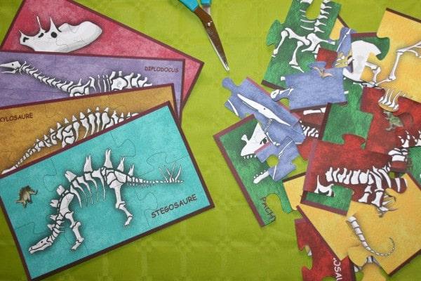 chasse au trésor dinosaure - puzzles et énigmes - Une Chasse au Trésor