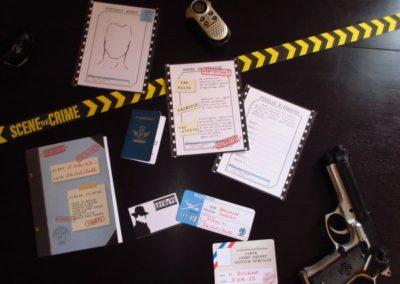 Une Chasse au Trésor espion 4 5 6 7 8 9 10 ans - dossier d'enquête