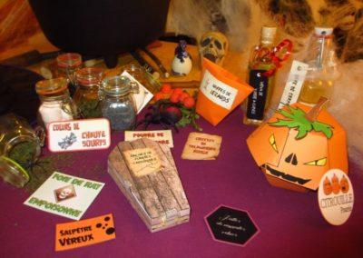 Une Chasse au Trésor - Halloween - boîtes à ingrédients secrets