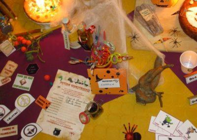 Une Chasse au Trésor - Halloween - décoration