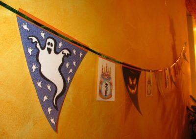 Une Chasse au Trésor - Halloween - décoration guirlande