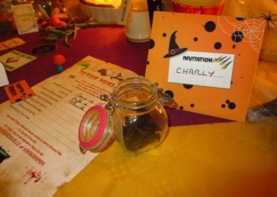 Une Chasse au Trésor - Halloween - invitation