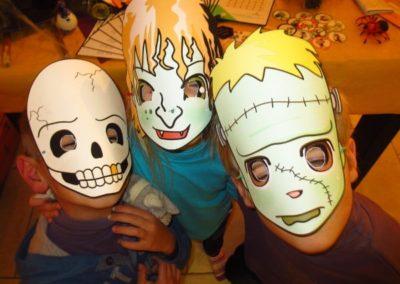 Une Chasse au Trésor - Halloween - costume déguisement masque