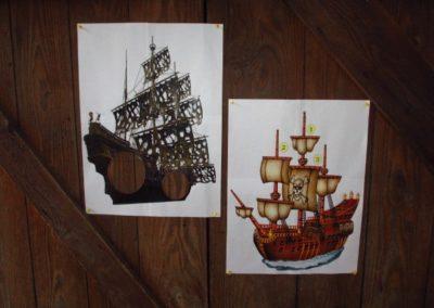 Une Chasse au Trésor - pirate sirène - affiches défis