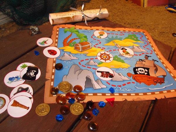 chasse au trésor maternelle pirate sirène - Une Chasse au Trésor