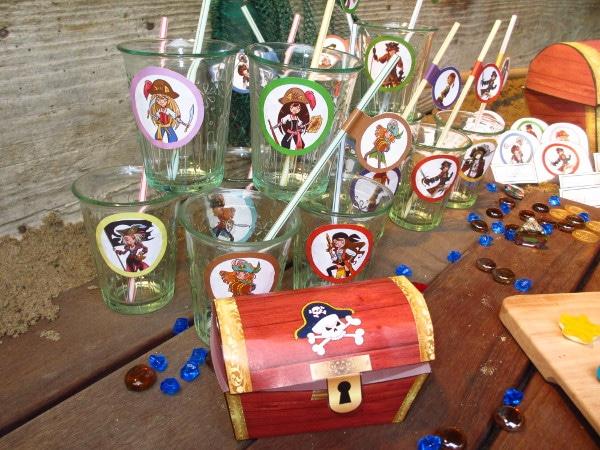 chasse au trésor pirate sirène - décoration - Une Chasse au Trésor