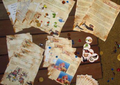 Une Chasse au Trésor - pirate sirène - indices, énigmes et défis