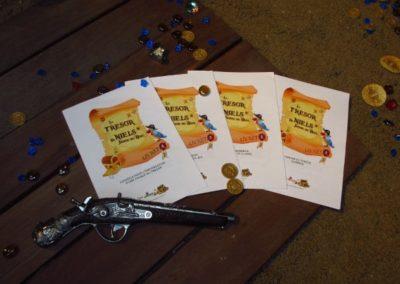 Une Chasse au Trésor - pirate sirène - livrets de jeux