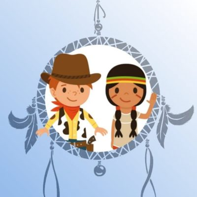 Une Chasse au Trésor - chasse au trésor cowboy indien 4 ans 5 ans