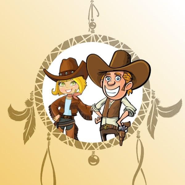 chasse au trésor 9 ans cowboys et indiens - Une Chasse au Trésor