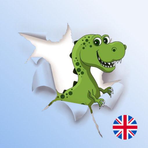 Une Chasse au Trésor en anglais - dinosaure 4 ans, dinosaure 5 ans