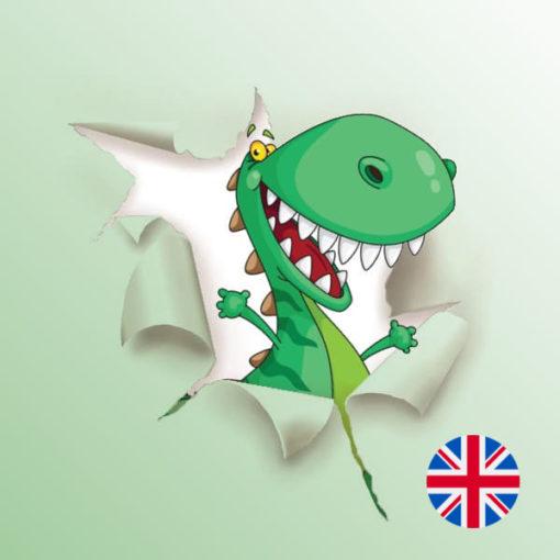 Une Chasse au Trésor en anglais - dinosaure 6 ans, dinosaure 7 ans