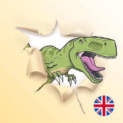 Une Chasse au Trésor en anglais - dinosaure 8 ans, dinosaure 9 ans, dinosaure 10 ans