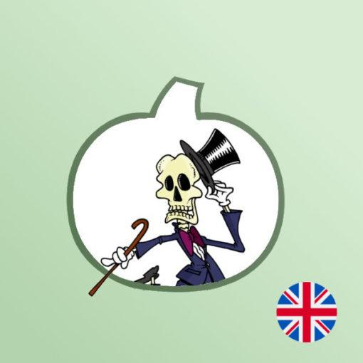 Une Chasse au Trésor en anglais - Halloween 6 ans, Halloween 7 ans